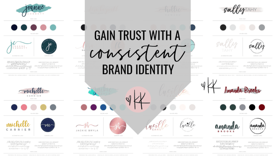 In order to gain the trust of your readers, prospects or buyers you must not overlook creating CONSISTENCY in your visual language and in this video I'm going to tell you exactly WHY.  Yes, everyone can do this and I will show you HOW.