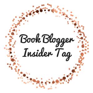 Book BloggerInsider Tag