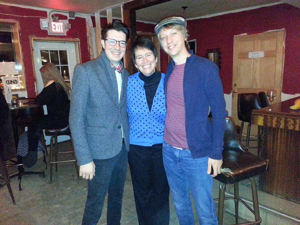 Rob Doyle, Justin Hind, and Kristin Oakley at The Jefferson