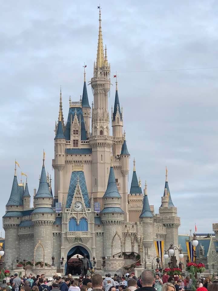Cinderella's Castle at WDW's Magic Kingdom