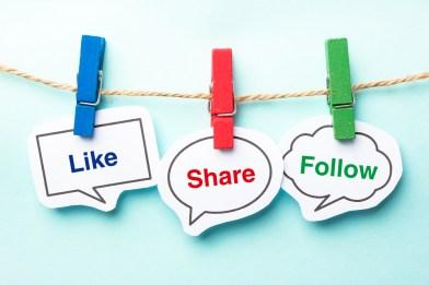 Social Media: Like, Share, Follow