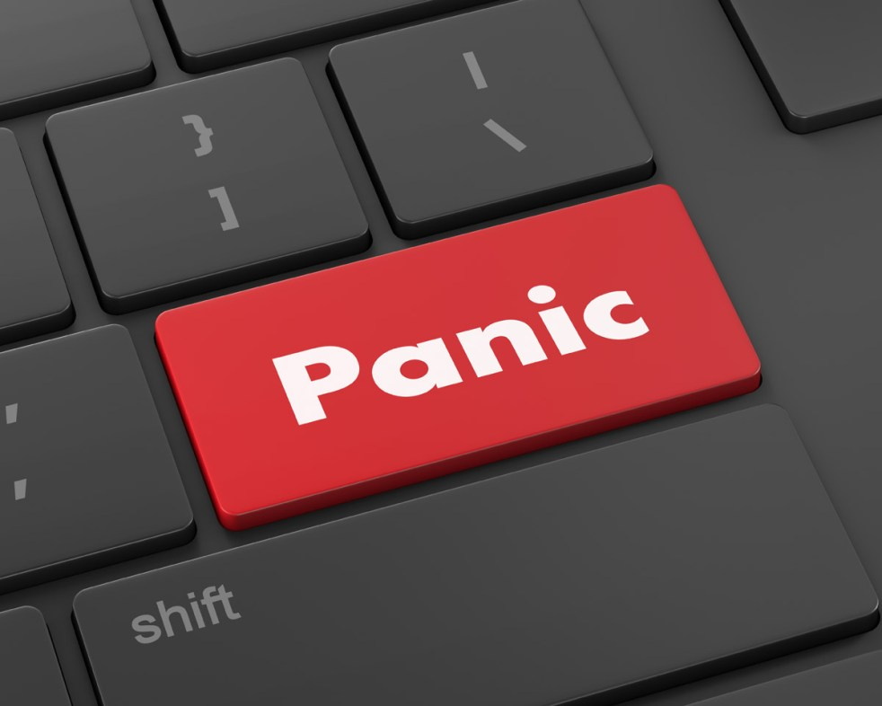 Don't Press the Panic Button