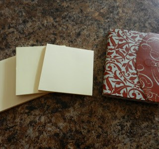Day 54: Sticky Notes and Scrap Paper