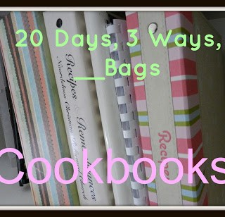 20 Days, 3 Ways, __Bags: Cookbooks and Recipes