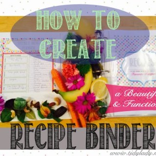 Guest Post: How To Create A Recipe Binder