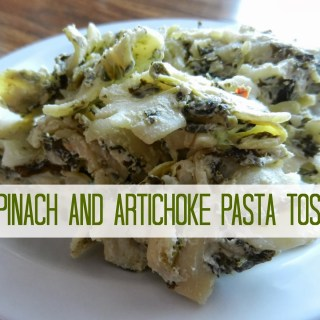 Spinach and Artichoke Pasta Toss