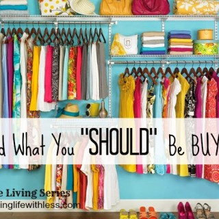 Avoid What You Should Be Buying