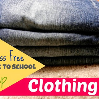 Stress-Free Back To School Prep: Clothing
