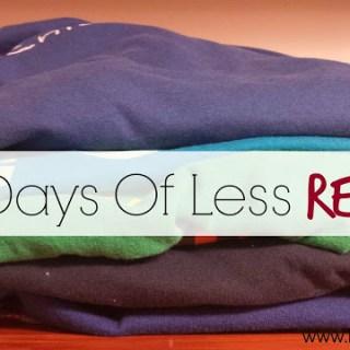 100 Days Of Less REVAMP