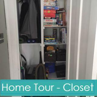 Home Tour – Front Closet