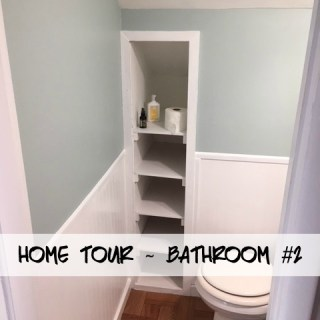 Home Tour ~ Bathroom #2