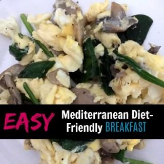 Easy Mediterranean Breakfast