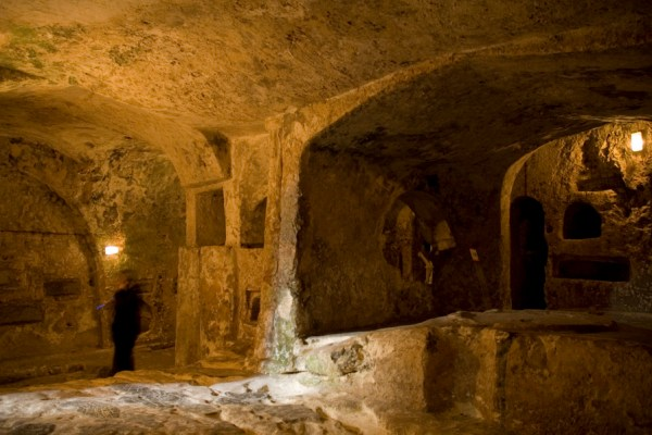 Entrance Hall in St. Pauls Catacombs, Rabat