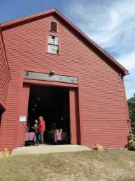 An outside shot of the barn in which the event took place. Photo by Morven Westfield.