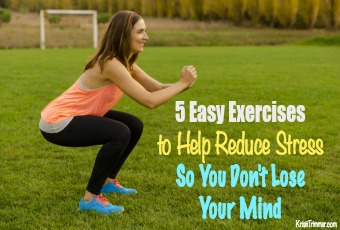 5 Easy Exercises to Help Reduce Stress So You Don't Lose Your Mind