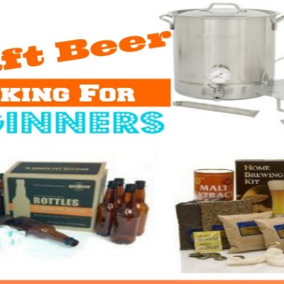 Craft Beer Making Supplies for the Beginner