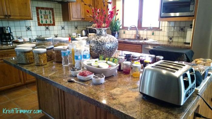 Croad Vineyard - Breakfast