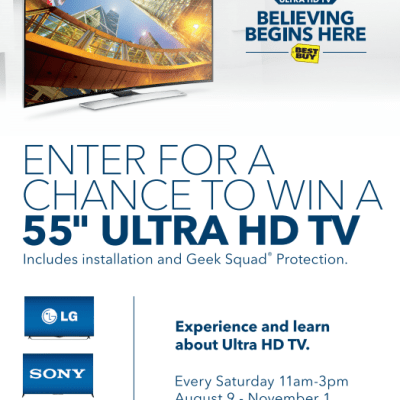 Best Buy Ultra HD Events Happening Now