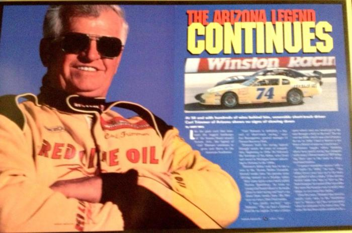 Carl Trimmer Nascar Magazine