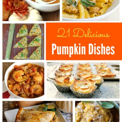 21 Delicious Pumpkin Dishes