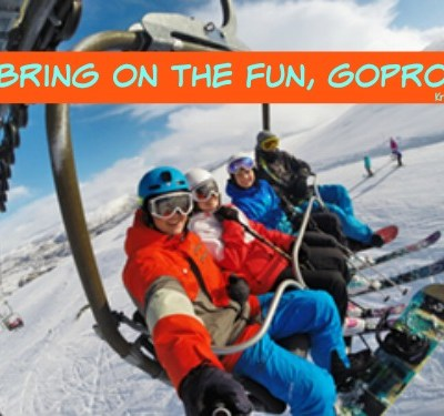 Bring on the Fun, GoPro Hero 4