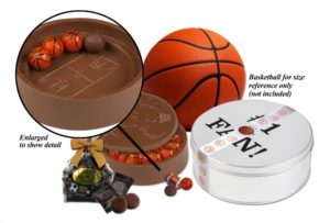 Basketball Chocolate Stadium