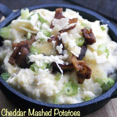 Pancetta Cheddar (Crack) Mashed Potatoes
