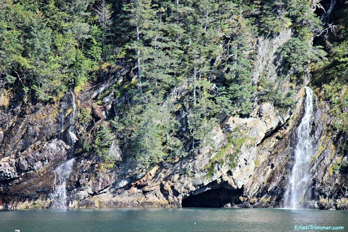 Fox Island - Waterfall and Cave