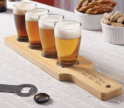 Personalized Beer Tasting Glasses