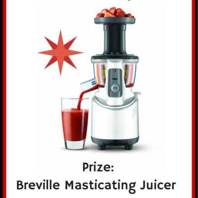 Breville Masticating Juicer Giveaway
