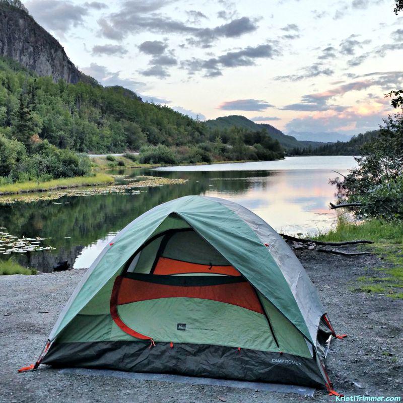 Camping in Alaska #camping #campingtips #alaska #travelalaska #rei