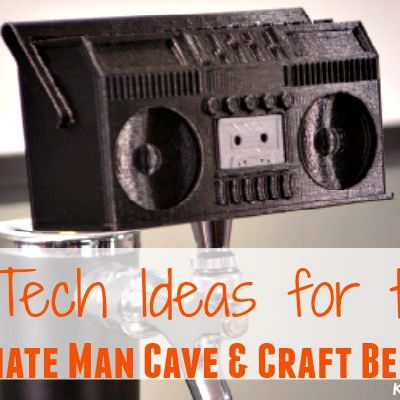 Tech Ideas for the Ultimate Man Cave & Craft Beer Lover