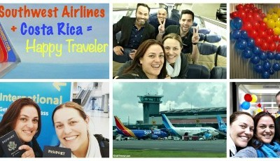 Southwest Airlines + Costa Rica = Happy Traveler