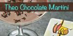 Theo Chocolate Martini