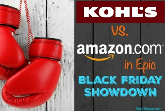 Kohl's vs Amazon in Epic Black Friday Showdown