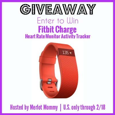 Fitness Tech Giveaway: Fitbit Charge Heart Rate Monitor Activity Tracker