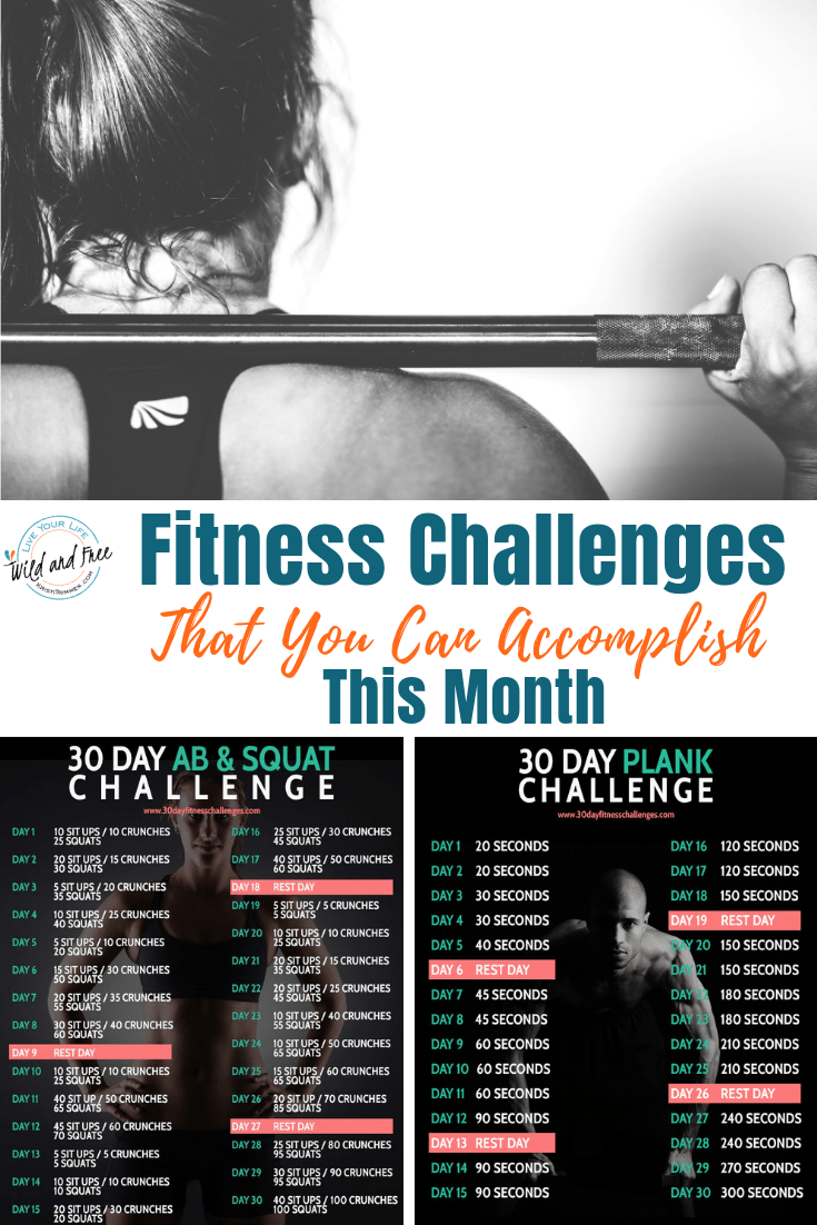 Fitness Challenges That You Can Accomplish This Month #fitnesschallenges #30dayfitnesschallenges #30daychallenges