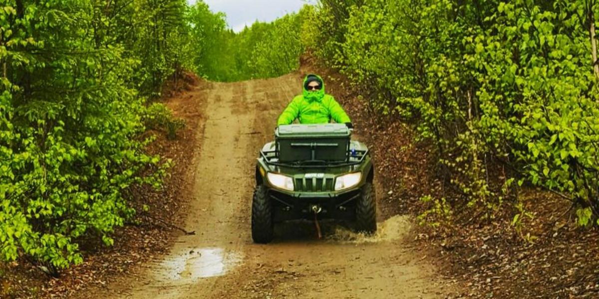 4 wheeling Alaska