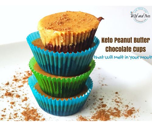 Sugar Free Keto Peanut Butter Chocolate Cups