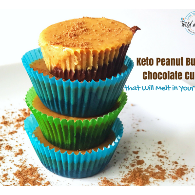 Keto Peanut Butter Chocolate Cups that Will Melt in Your Mouth