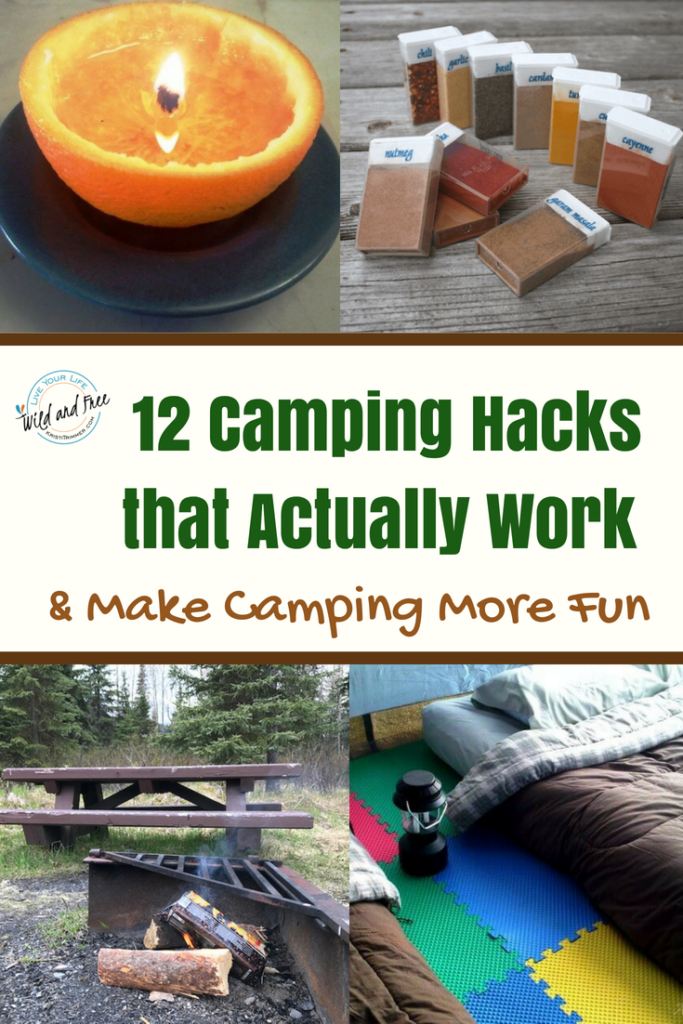Camping Hacks that Actually Work and make camping more fun