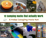 12 Camping Hacks that Actually Work & Make Camping More Fun