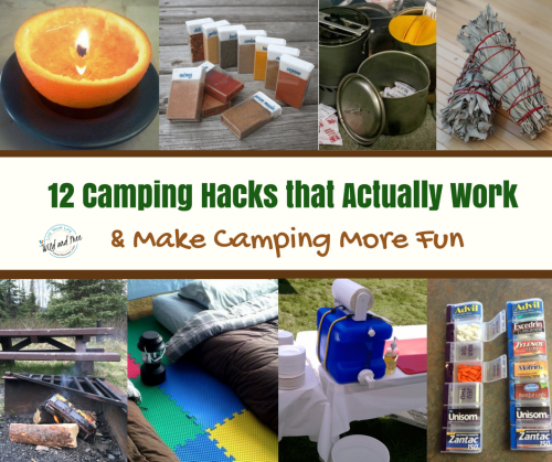 Camping Hacks that Actually Work