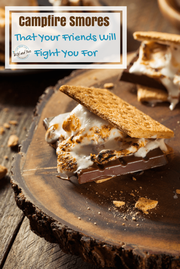 Campfire Smores That Your Friends Will Fight You For