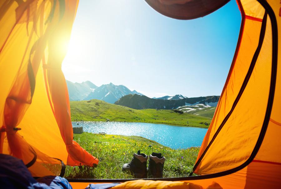 Camping in Alaska
