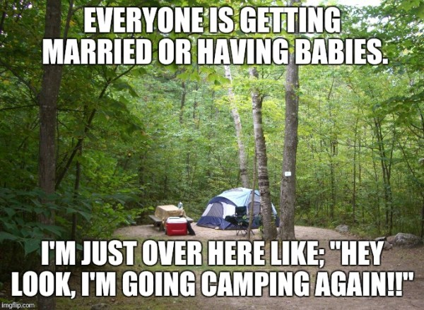 Best Camping Memes