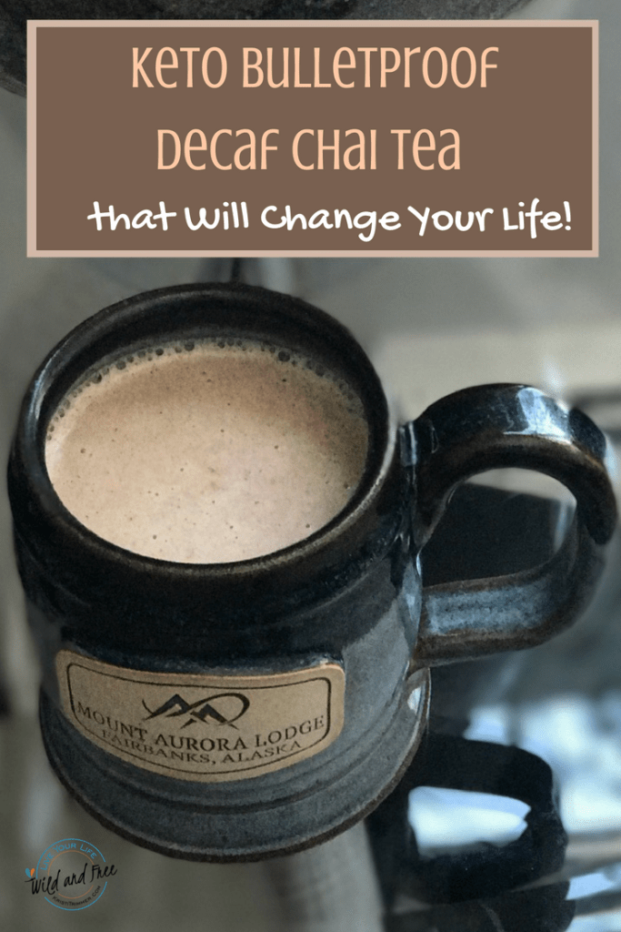 Keto Bulletproof Decaf Chai Tea Recipe