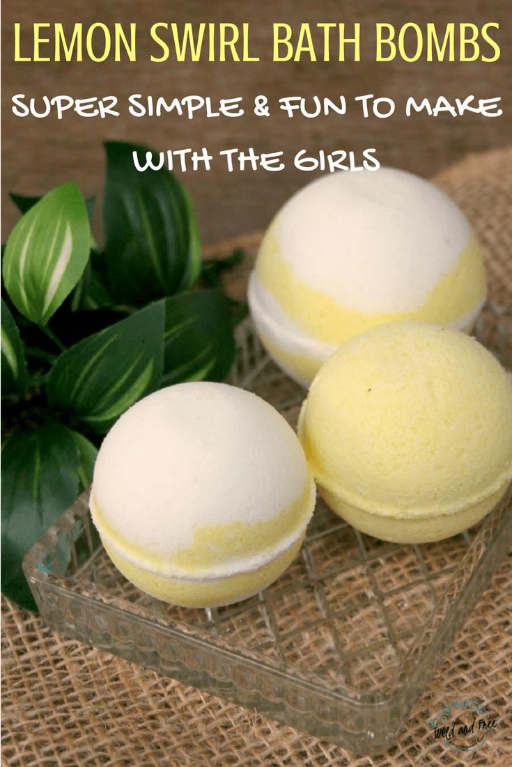 Lemon Bath Bombs #bathbombs #diybathbombs #diybeauty #selfcare
