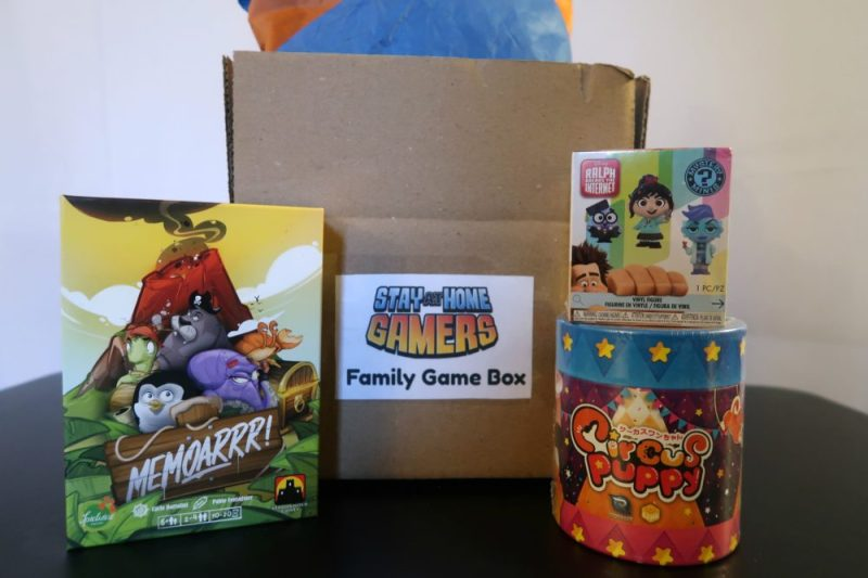 Little Gamers Family Game Box #subscriptionbox #gaminsubscriptionbox