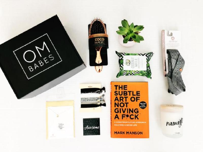 Oh Babes Yoga Subscription Box #subscriptionbox #yogasubbox